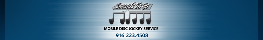 Sacramento DJ Wedding DJ Sounds To Go